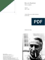 Barthes, Roland. Roland Barthes Par Roland Barthes