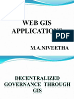 Web Gis Applications