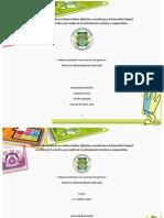 Diseño y desarrollo de un sistema lúdico-didáctico versátil para niños de 3 a 8 años. AJE3 trabajo final de grado