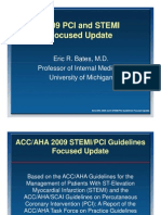 Lecture AHA 2009 STEMI Focused Update