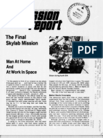 Mission Report the Final Skylab Mission Man at Home and at Work in Space