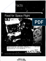 NASA Facts Food for Space Flight