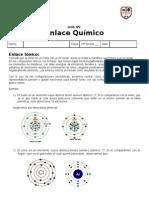 Guía Nº2 -  Enlaces quimicos