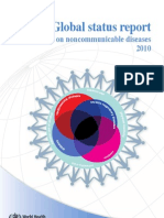 Global status report on noncommunicable diseases 2010 WHO