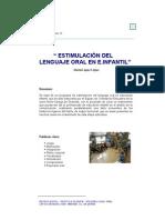 Estimulacion Del Lenguaje Oral PDF