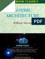 William Morris - Gothic Architecture