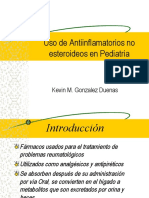Uso de AINE en Pediatria