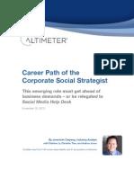 제레미야 오양 보고서 - 기업의 소셜미디어 Strategist