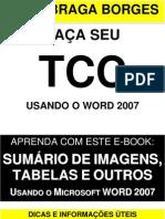 TCC - criando sumário de imagens e tabelas