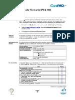 Carta Tecnica CTW1111