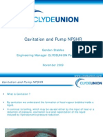 Cavitation and PUmp NPSHr[1]