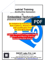 Industrial Training in Embedded - 2011