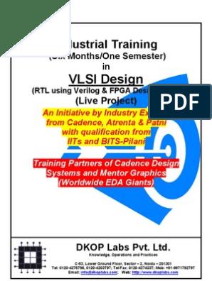 Industrial Training in VLSI Design - 2011 | Field