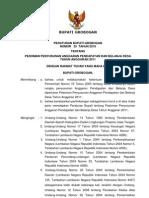 Perbup Grobogan No.53 Th 2010 Tentang Pedoman Penyusunan Apbdesa Ta 2011