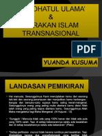 Nu Dan Gerakan Transnasional