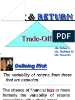 Risk Return PPT