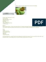 Pandan Cake Recipes