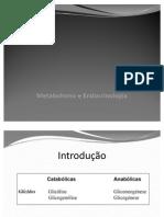 Glicogénese, glicogenólise e gliconeogénese