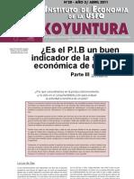 Koyuntura #20 Abril 2011 - JFC PIB Parte 3