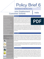 The Maharashtra Employment Guarantee Scheme