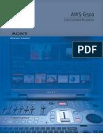 Sony Aws g500e