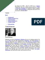 Rudolf Karl Bultmann - Chris to Logy 1