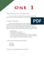46616018 Texte Pentru Verificarea Cunostintelor