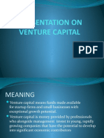 Ppt on Venture Capital