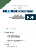Programmation Procédurale avec SQL