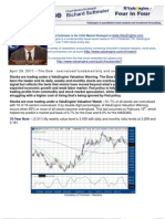 The Dow - overvalued fundamentally and overbought technically