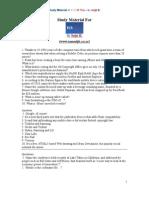 TCS IT Wiz Study Material
