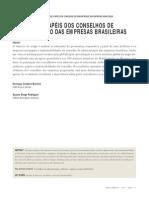 ATRIBUTOS E PAPÉIS DOS CONSELHOS DE ADMINISTRAÇÃO DAS EMPRESAS BRASILEIRAS