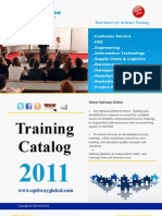 Inhouse Training Catalog