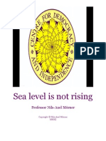 Sea Level is Not Rising by Professor Nils-Axel Mörner