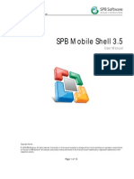 Spb Mobile Shell 3.0 User Manual