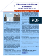 EdUSA-Alumni Newsletter, Issue #9