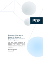 Brown Forman Report