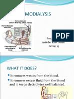Hemodialysis-Avin's Therapy Presentation