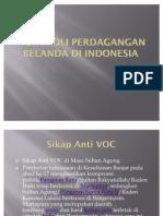 Monopoli Perdagangan Belanda Di Indonesia