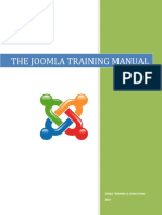 The Joomla Manual