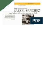 Historia de Rafael Sánchez - cineasta jesuita chileno