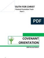 Yfc Covenant Orientation (2009 Edition)