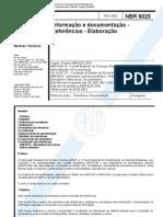 ABNT NBR 6023-2002 - Informação e documentação - Referências - Elaboração