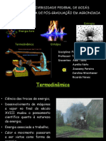 Energia Livre - Termodinâmica