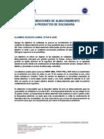 File 557 Recomendaciones Generales Almacenamiento