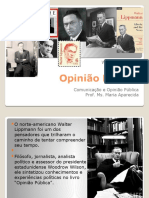 Walter Lippmann Opinião Pública