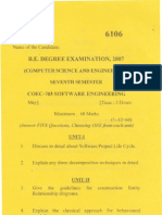 May- 6106- VII Sem Software Engg