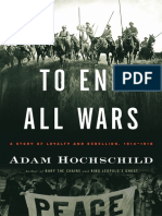 To End All Wars by Adam Hochschild (Excerpt)