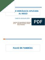 RIEGO-Perdidas en Tuberias