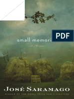 Small Memories by José Saramago (Excerpt)